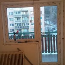 REALIZÁCIE / Okná a dvere (byt KK - po aplikácii zateplenia)