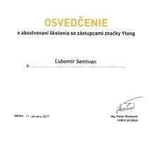 Osvedčenie Ytong